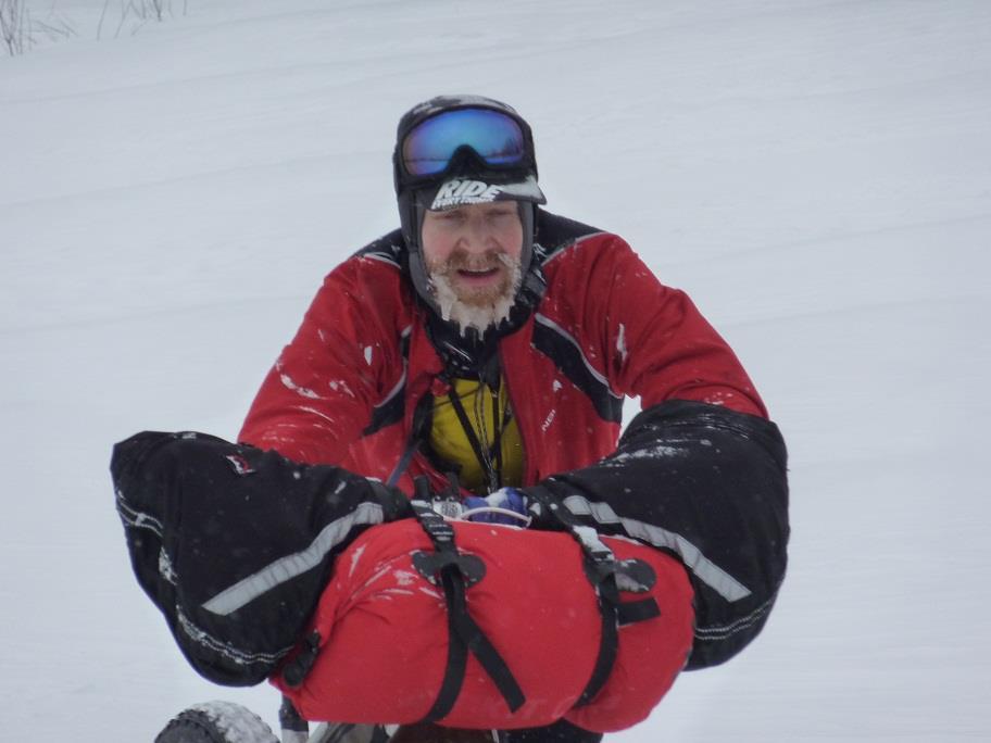 John Ross, segundo clasificado en la Rovaniemi150. Escocés.