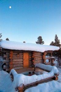 Información detallada de las cabañas de Kakslauttanen