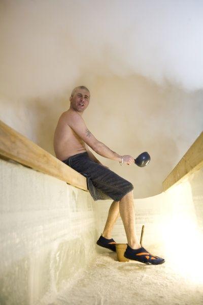 Sauna de hielo en Rovaniemi