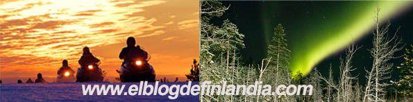 ¿Motos de nieve y auroras boreales? una mezcla perfecta