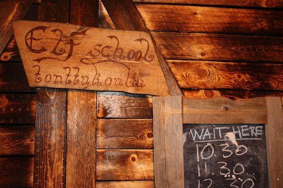 Escuela de elfos en Santa Park (también en español)