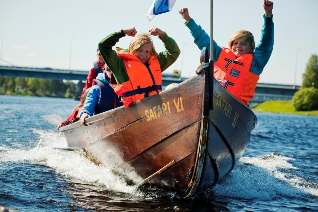 activivades veraniegas en Rovaniemi, cruceros fluviales
