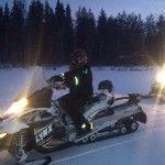 Rovaniemi primer safari de la temporada 1.12.2012