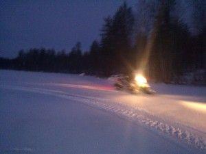Rovaniemi, primer safari de la temporada 1.12.2012