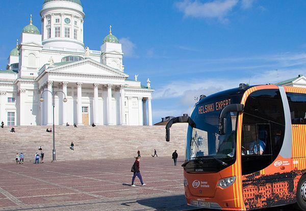 Visita Panorámica en Helsinki, incluída en el precio de la Helsinki Card