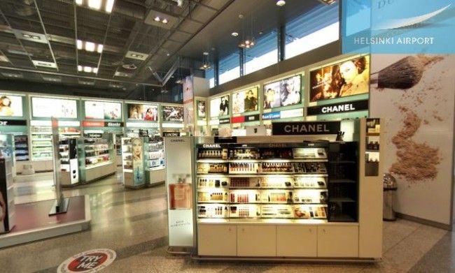 duty-free del Aeropuerto de Helsinki en Finlandia