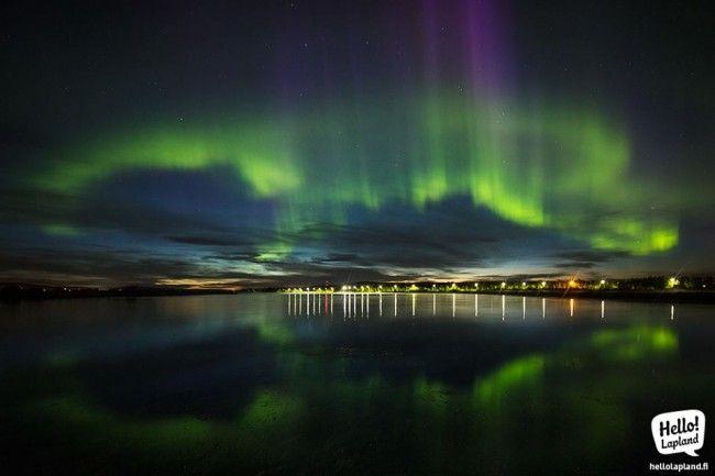 Increíble aurora boreal en Rovaniemi (31.8.2013)