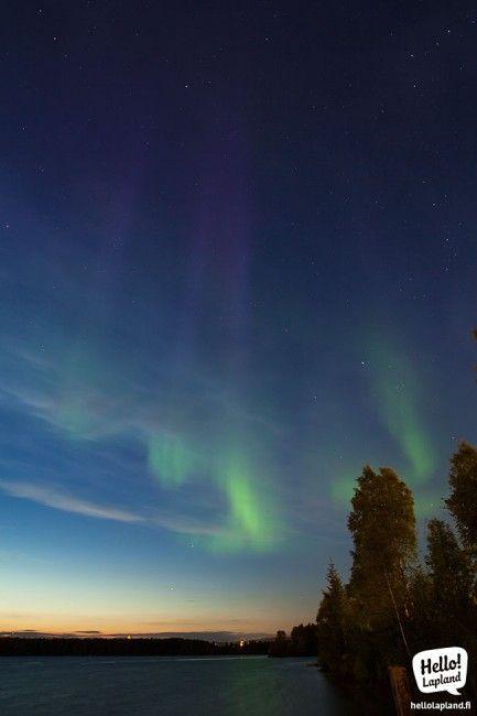 Rovaniemi aurora boreal 28 de agosto 2013 (Foto Hello Lapland)