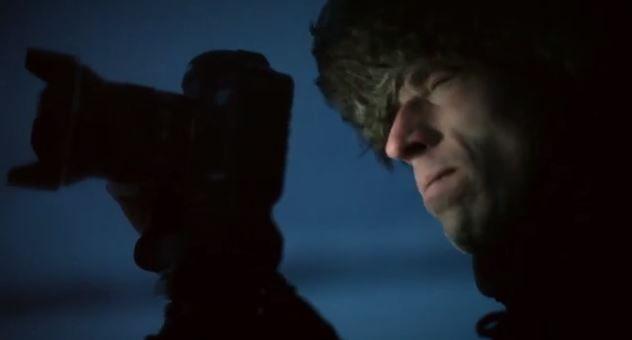 Andy Keen, cazador de auoras boreales, Ivalo, Laponia, Finlandia