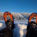 Raquetas de nieve en Laponia (Foto HelloLapland)