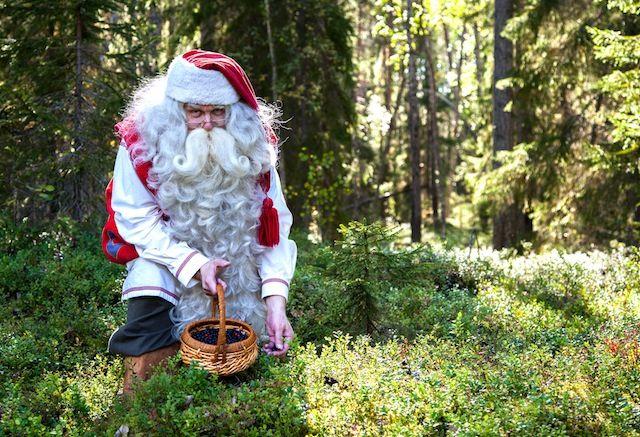 Qué hace Papá Noel en verano