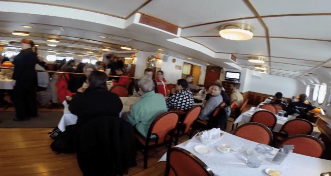 Restaurante del rompehielos Sampo