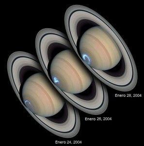 Aurora Boreal Saturno
