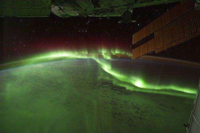 Aurora-Boreal-desde-el-espacio