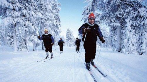 Esqui de fondo rovaniemi