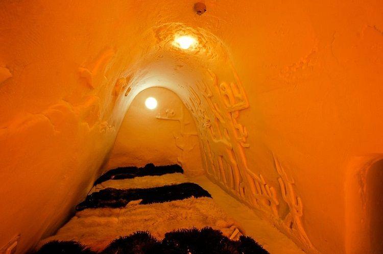 Habitación familiar. Castillo de Hielo - Kemi - Finlandia