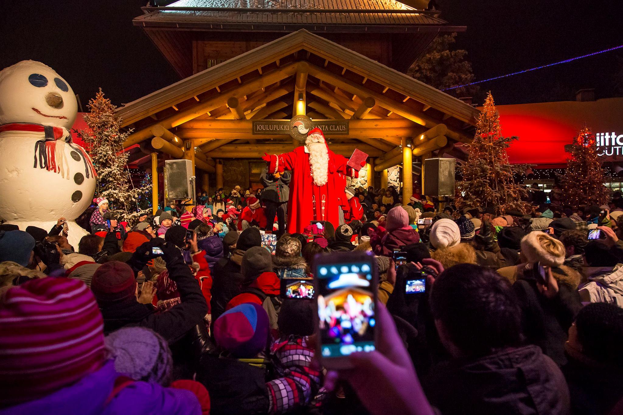 Inauguración de la Navidad en Rovaniemi