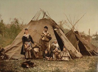 Familia Sami en el año 1900