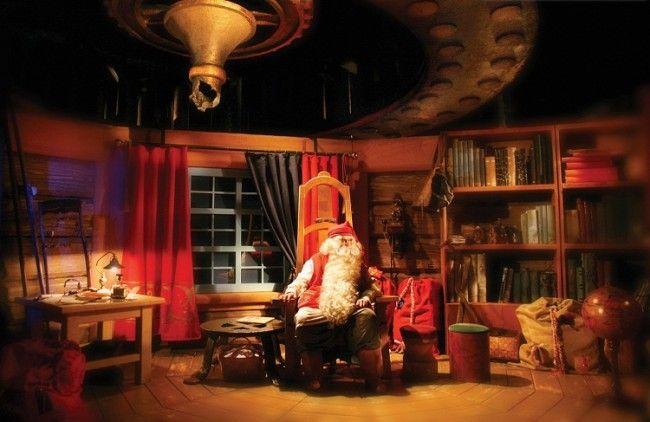 Papá Noel oficina