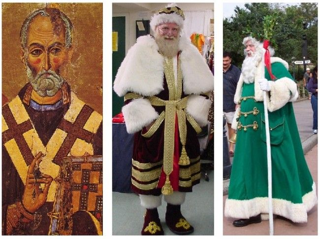 San Nicolas y Papá Noel