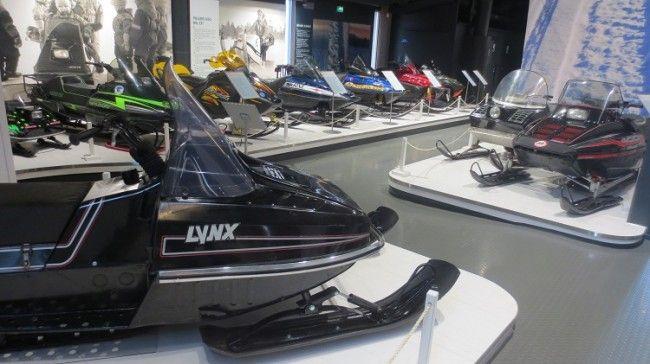 Museo de motos de nieve