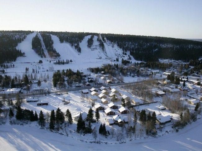 Estación de esquí Ounasvaara en Rovaniemi