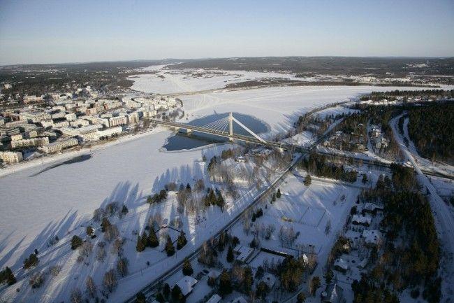 Vista aérea de Rovaniemi