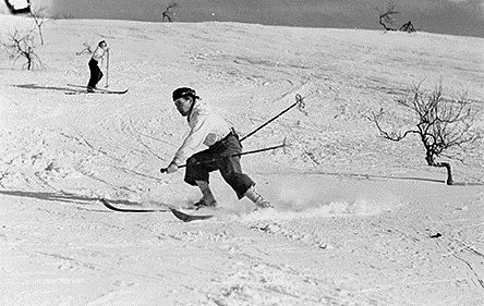 Esquí alpino en 1938