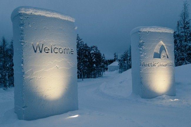 Bienvenidos al hotel de hielo