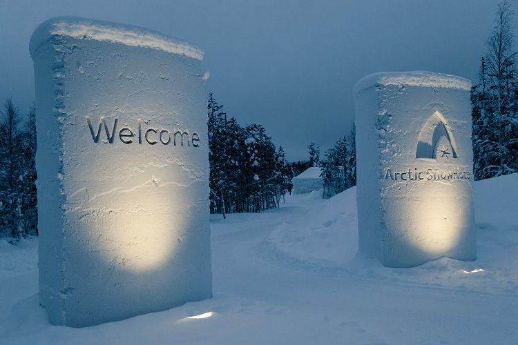 Arctic Snow Hotel, un mundo de hielo cerca de Rovaniemi.