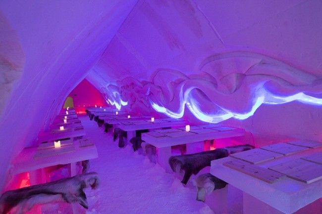 Restaurante de hielo