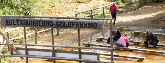 Buscando oro en Tankavaara