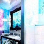 Baño del Arctic Light Hotel. Este es con bañera, aunque el nuestro era con ducha