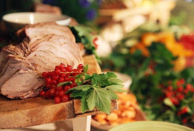 Carne con frutos del bosque, un clásico en la cocina finlandesa