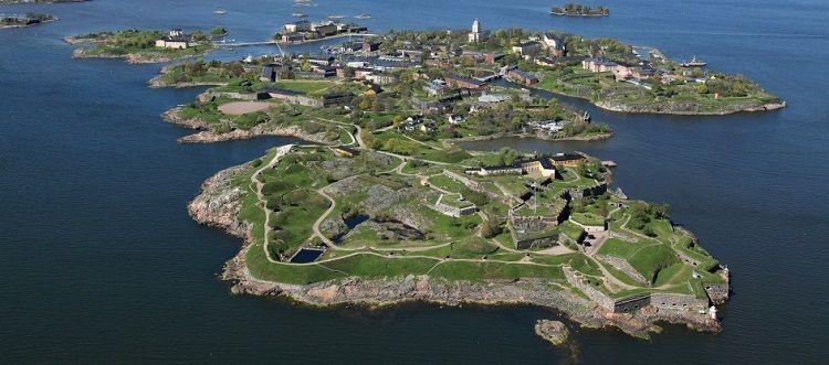 Suomenlinna, la fortaleza sueca hoy orgullo de Finlandia.