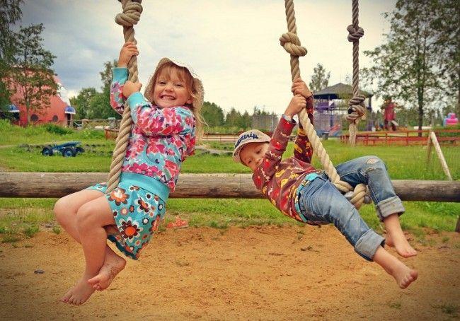 Diversión total para los niños