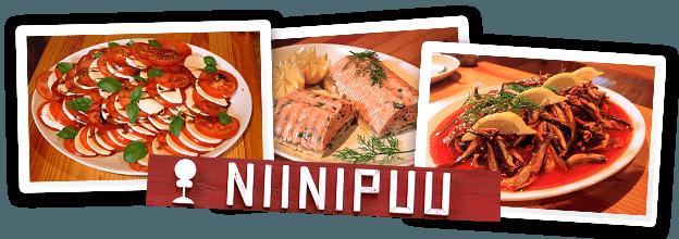 La comida natural y de la zona es el sello de calidad del restaurante Niinipuu