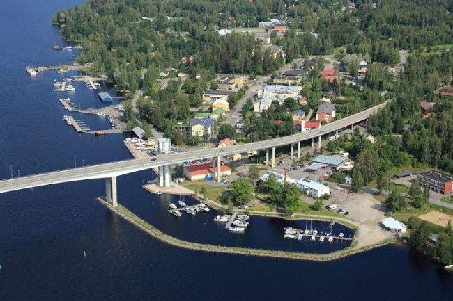 Puumala y su puente