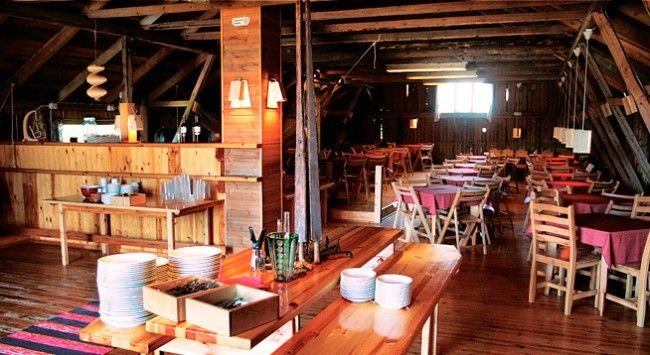 Sala grande del restaurante Niinipuu