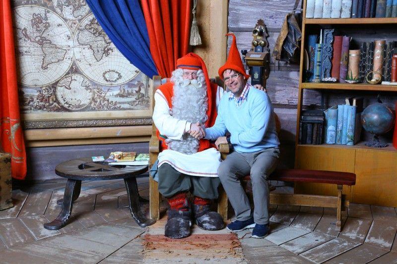Lapland Safaris salva a Papá Noel