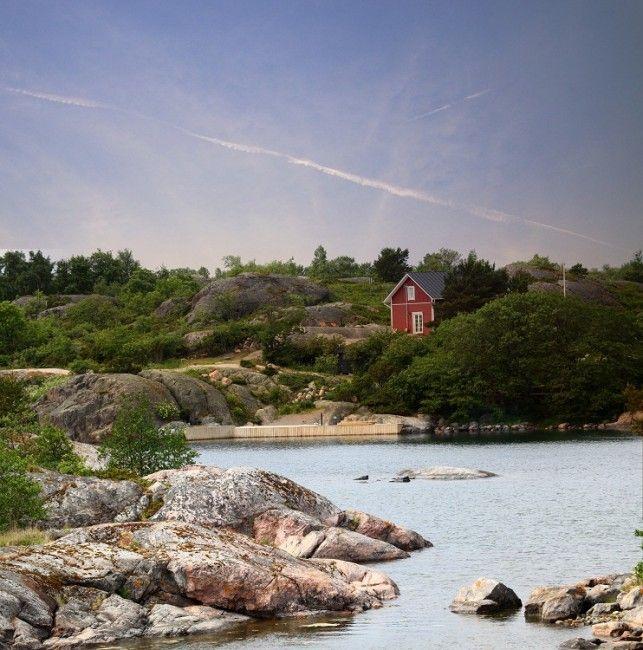 Cabaña en el Parque Nacional del Archipielago de Turku