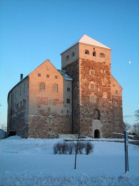 Castillo de Turku.