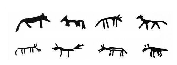 El Lobo segun la representación de los Samis