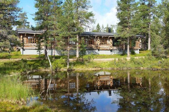 Javri-Lodge,-Saariselkä,-Laponia,-verano-2