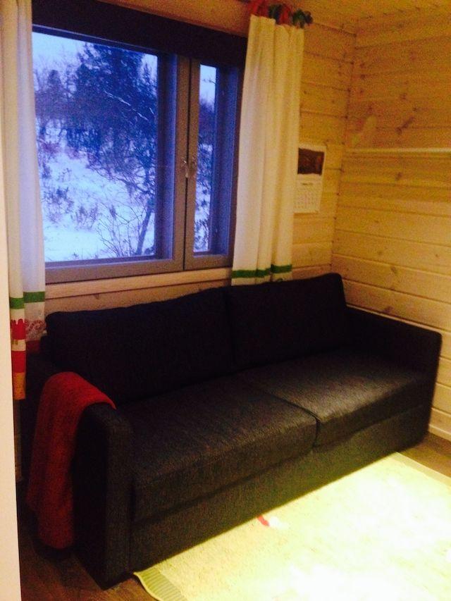 Caba a saariselk dormitorio sof cama el blog de finlandia y laponia - Sofa dormitorio ...
