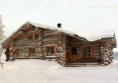Caba as santa claus holiday village - Alojamiento en la nieve ...