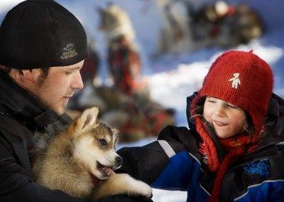 Actividades de invierno en Luosto