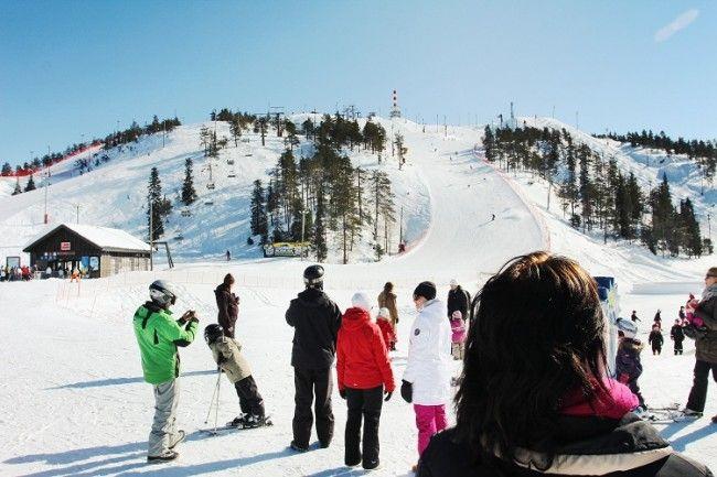 Ruka una estación de esquí para todos