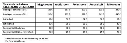Precios-Arctic-light-hotel