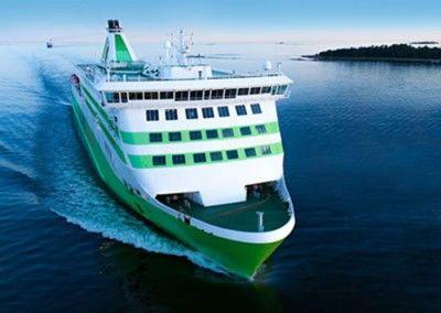 Reserva de ferrys en el Báltico